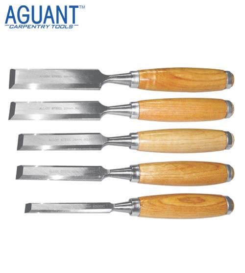 BEVELLED EDGE CHISELS SET OF 5 PIECES
