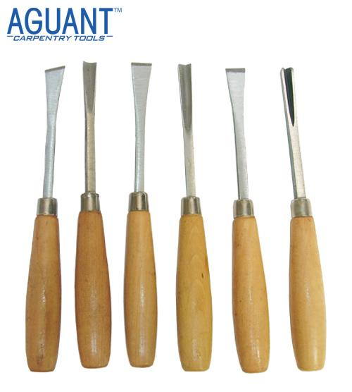 WOOD CARVING TOOLS SET OF 6 PIECES