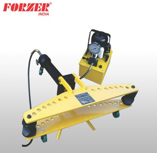 HYDRAULIC MOTORISED PIPE BENDER WITH HINGED FRAME WITH POWER PACK