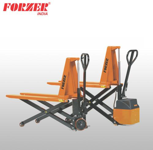 HYDRAULIC HIGH-LIFT PALLET TRUCK