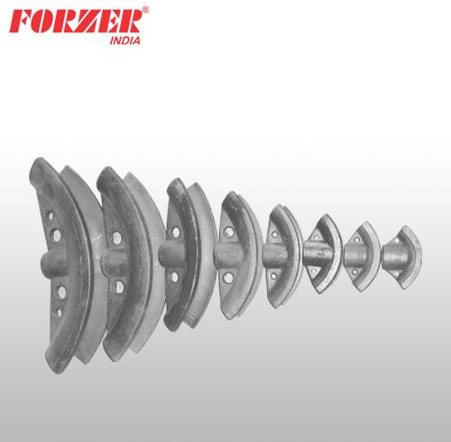 SPARE BENDING FORMERS OF HINGED FRAME